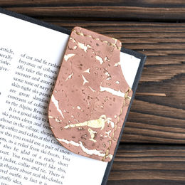 Mary Bookmark Rose Gold Fleck