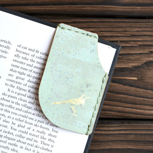 Mary Bookmark Mint Green