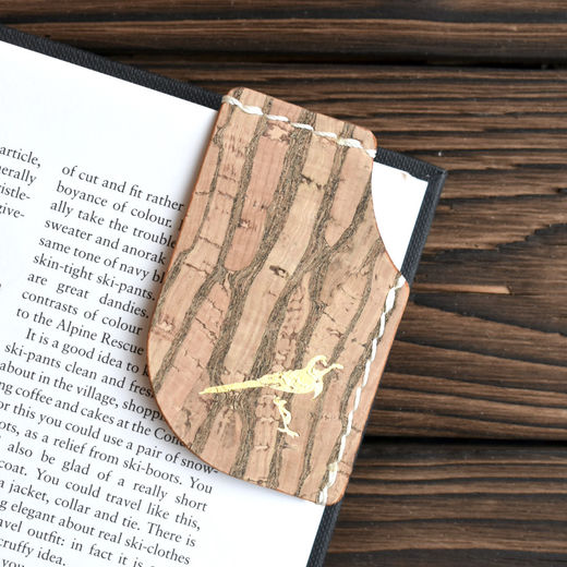 Mary Bookmark Tiger Stripe